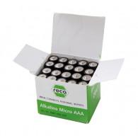 RECA Batterie Alkaline Typ AAA 20 Stück
